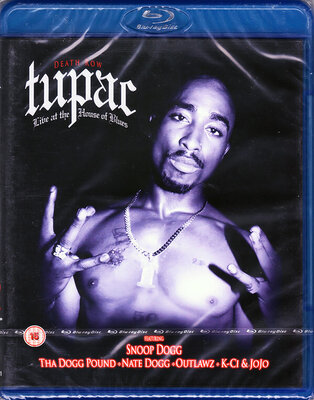 TUPAC, LIVE AT THE HOUSE OF.., BLU-RAY