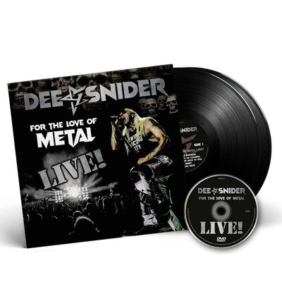 DEE SNIDER, FOR THE LOVE OF METAL - LIVE!, VINYL LP