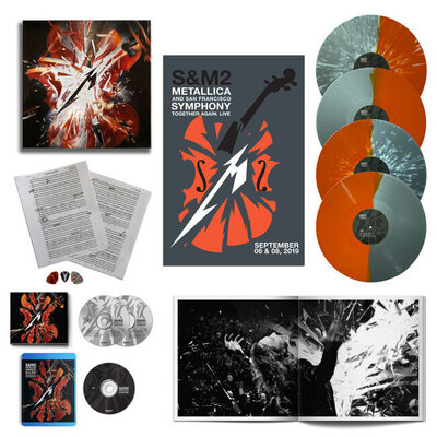 METALLICA, S&M2, BOX SET LTD, Vinyl LP