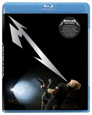 METALLICA, QUEBEC MAGNETIC, BLU-RAY