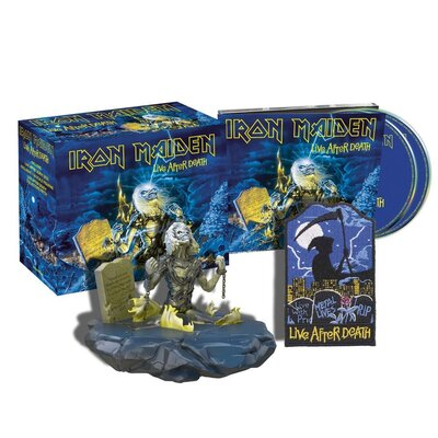 IRON MAIDEN, Live After Death COLL. ED., CD