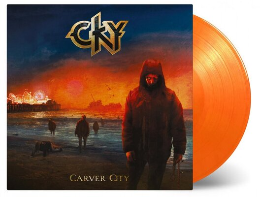 CKY, CARVER CITY, COLOURED, Vinyl LP