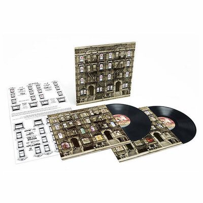 LED ZEPPELIN, PHYSICAL GRAFFITI, Vinyl LP