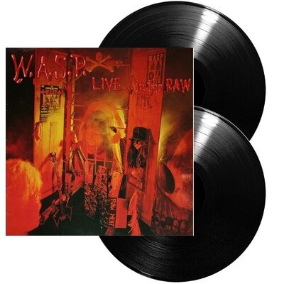 W.A.S.P., LIVE IN THE RAW HQ, Vinyl LP
