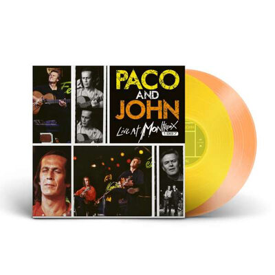 PACO DE LUCIA/JOHN MCLAUGHLIN, Paco and John Live At Montreux LTD., Vinyl LP