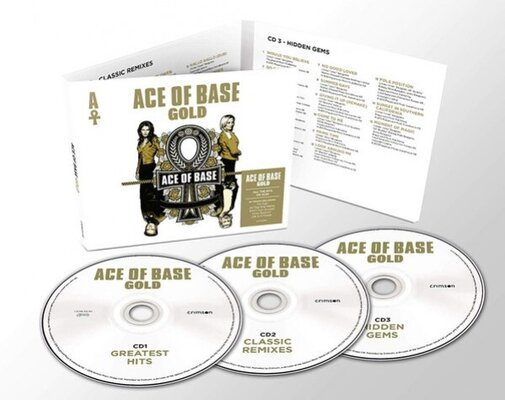 ACE OF BASE, Gold, 3CD