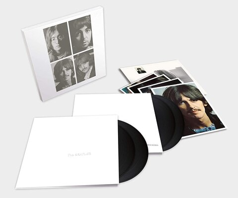 BEATLES, WHITE ALBUM, 50TH.., HQ., Vinyl LP