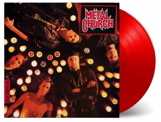 METAL CHURCH, HUMAN FACTOR LTD., Vinyl LP