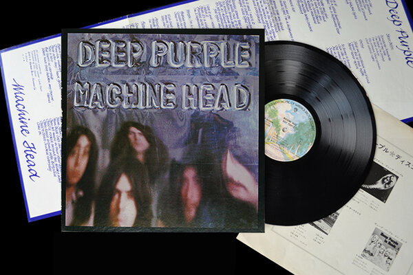 DEEP PURPLE, MACHINE HEAD, HQ+DOWNLOAD, Vinyl LP