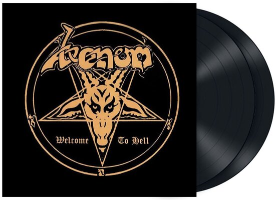 VENOM, WELCOME TO HELL, VINYL LP