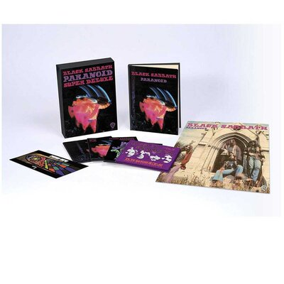 BLACK SABBATH, Paranoid, 50th Anniversary, 4CD