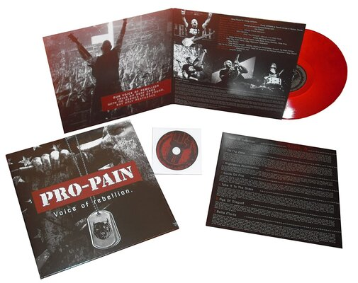 PRO-PAIN, VOICE OF REBELLION, Vinyl LP
