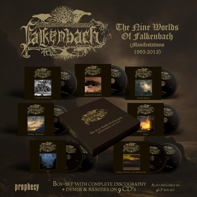 FALKENBACH, The Nine Worlds Of Falkenbach (Manifestations 1995-2013), 9CD
