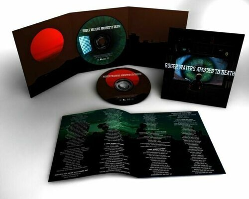ROGER WATERS, AMUSED TO DEATH, CD+BLU RAY