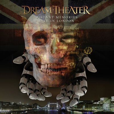 DREAM THEATER, Distant Memories - Live In London, 3CD+2DVD