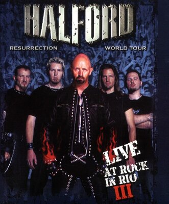 HALFORD, RESURRECTION WORLD TOUR, 2DVD
