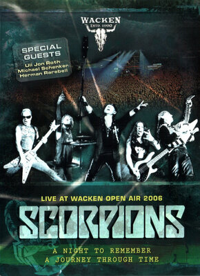 SCORPIONS, LIVE AT WACKEN OPEN AIR 2, DVD
