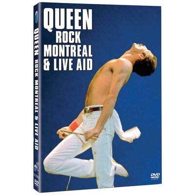QUEEN, ROCK MONTREAL/LIVE AID LTD., 2DVD