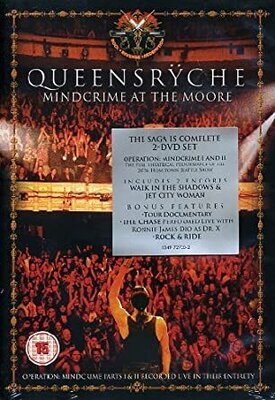 QUEENSRYCHE, MINDCRIME AT THE MOORE, 2DVD