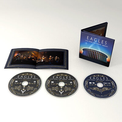 EAGLES, Live From the Forum Mmxviii, 2CD+BLU RAY