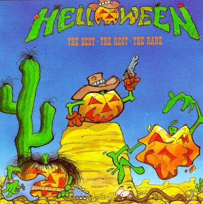 HELLOWEEN, THE BEST, THE REST, THE RARE, Vinyl LP