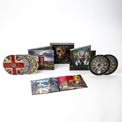 DREAM THEATER, Distant Memories - Live In London, 3CD+2BLU RAY