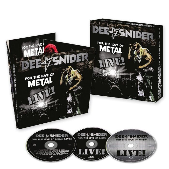 DEE SNIDER, FOR THE LOVE OF METAL - LIVE!, 3CD